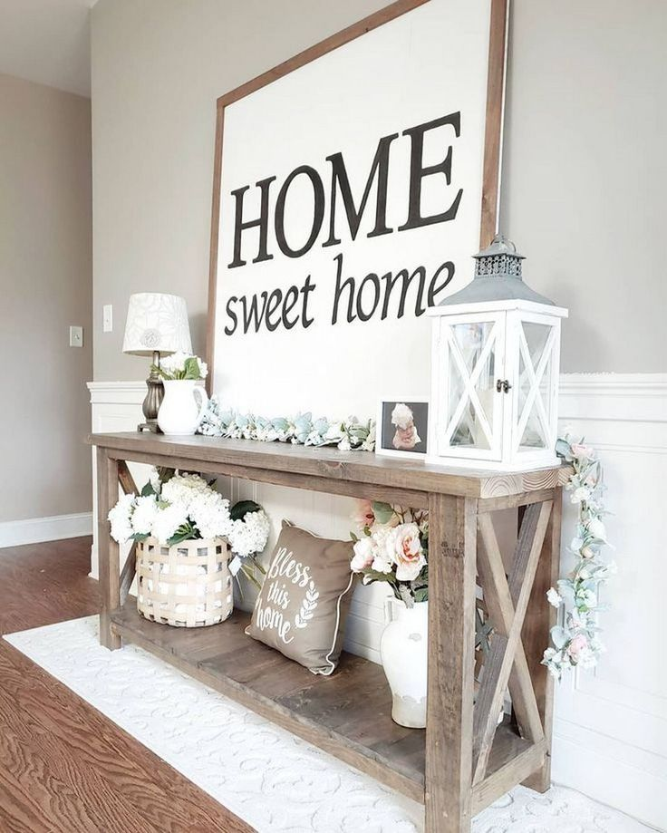 70 Creative DIY Farmhouse Home Decor Ideas and Inspirations #farmhousedecor #far…