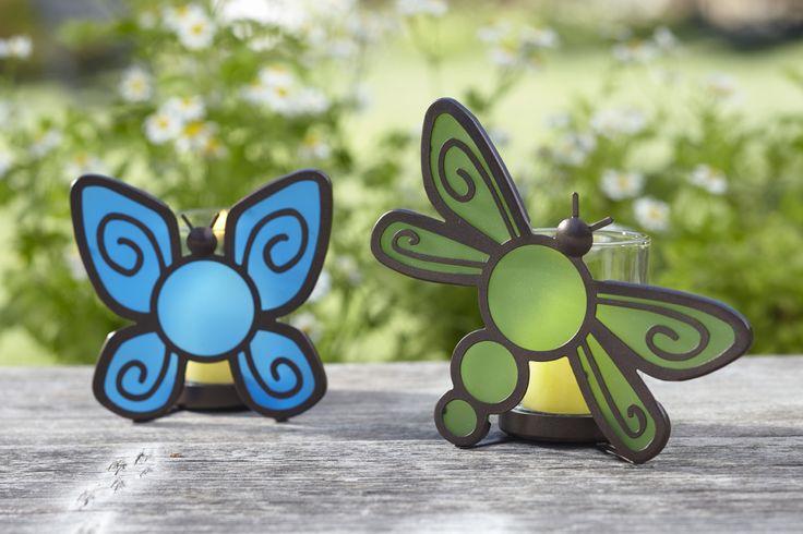 PartyLite's Flutter Bugs Votive Pair