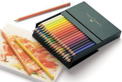 Lápices Faber-Castell polychromos. Caja de 36 colores