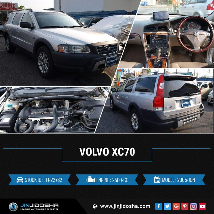 #Buy Your #VOLVO #XC70 Now!    #JinJidosha #Japan #BestCarSellingCompany #Japanese #RHD #Drive #Familycar #Carsforsale #Sale #AT #Automatic #Speedway #SuperCars #Silver #Foglights #Rearspoiler #Sunroof #Navigation #Vehicles #Cars #Dealership #Offer