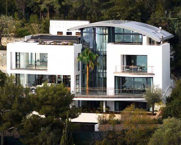 Luxus Ferienhaus Frankreich Fassade