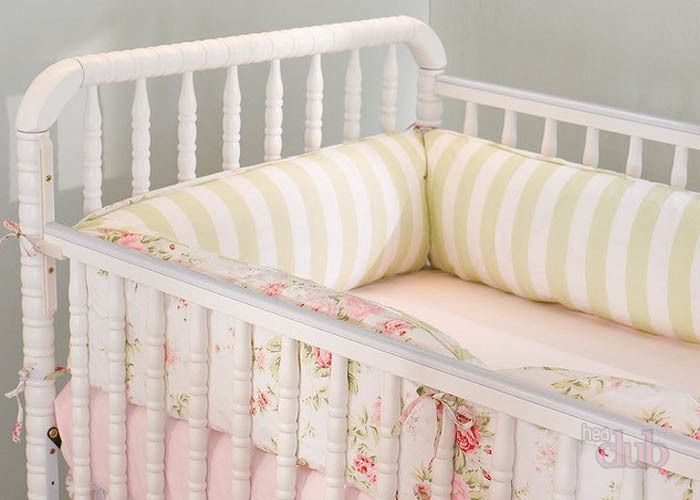 Бортики на прутья кроватки раздельные купить шотландскую ткань в клетку