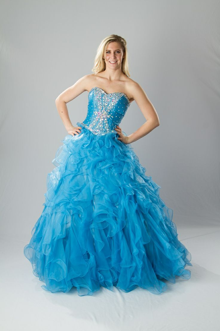 189 best Ball Gown Prom Dresses images on Pinterest | Ball gown prom ...