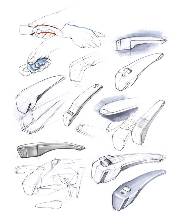 Behind the sceens: ideation and design sketching by Alberto Vasquez, via Behance