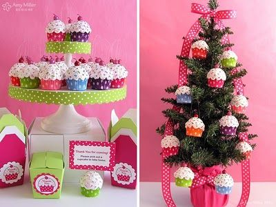 chinese take out boxes with cupcakes | gift giving ideas | Pinterest