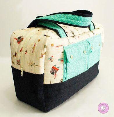 #maleta #bolsa #macuto #bebe #personalizada #handmade #hechoamano #telas #fabrics #regalos #ideas