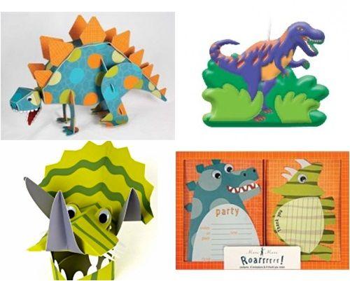 fiesta de dinosaurios con detalles muy originales