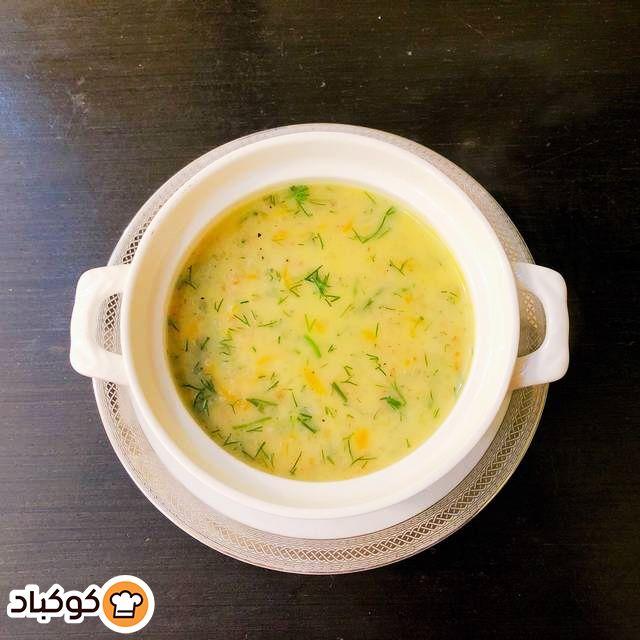 شوربة البرغل بالشبت بالصور من Nsaym Recipe Soup Chowder Cheeseburger Chowder