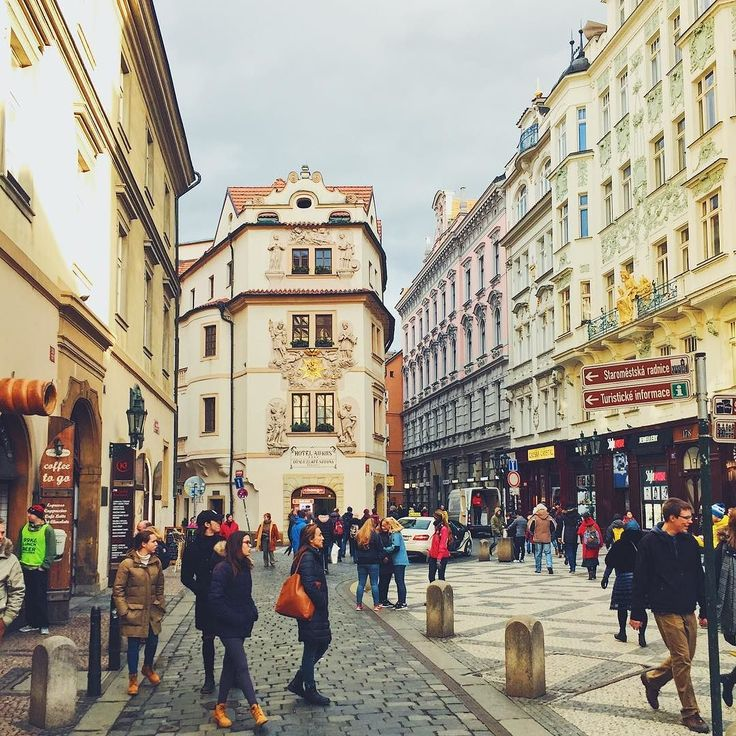 #Streets of the #center of #Prague  Awesome place