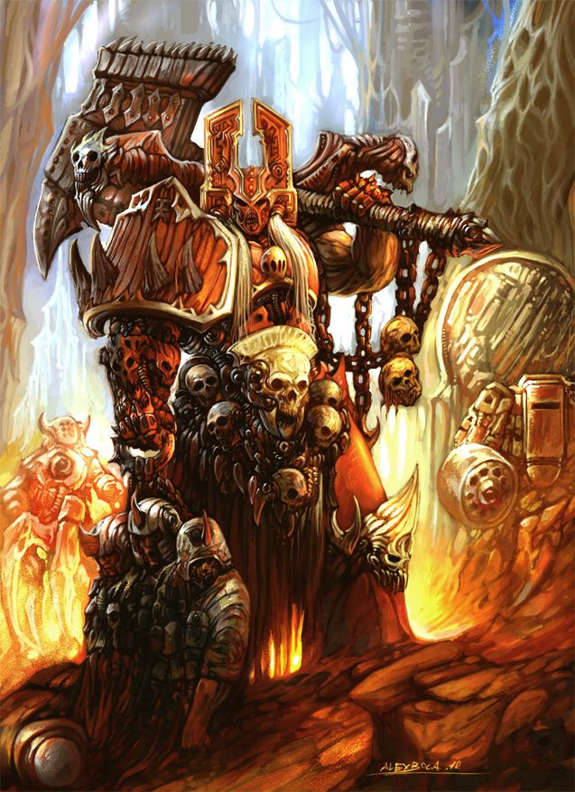 Khorne 40k fan art by Zyklon8B | Warhammer | Pinterest ...