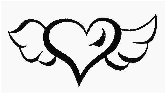 25 Paisible Coeur Dessin Facile Image Dessin Ange Dessins Faciles Dessin