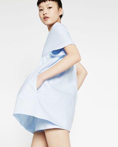 Image 3 de ROBE COMBINAISON DECOLLETEE de Zara