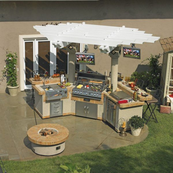 17 Best Ideas About Modular Outdoor Kitchens On Pinterest