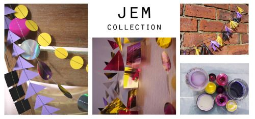 JEM collection wedding chair decor ~ garlands ~ tassels Our collections of handmade decorations come in co-ordinating colours