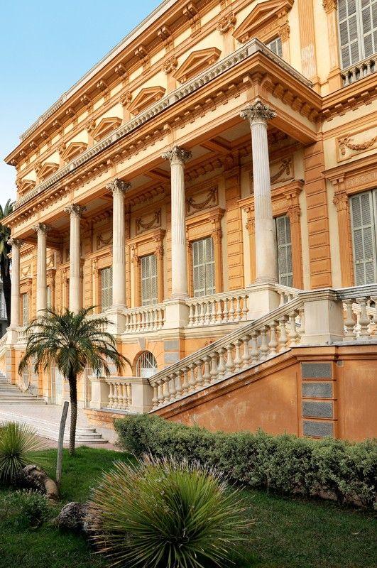 Musée des Beaux Arts, Nice, France - Façade.