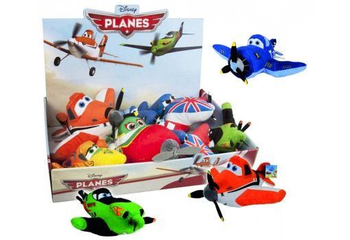 Planes - plyšové letadlo 20 cm