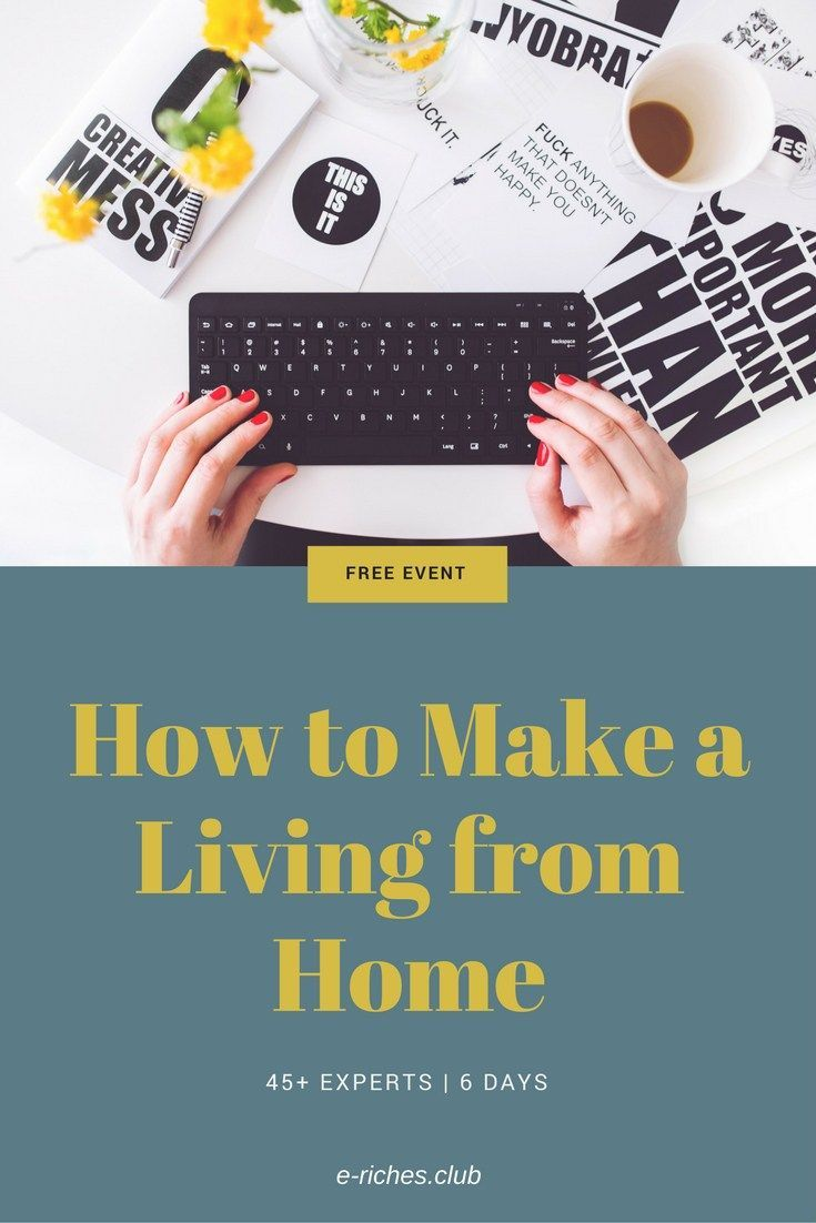 Learn from over 45 experts in making money from home/online. Caitlin Pyle is running a FREE Work-at-Home Summit starting on Jan 29th, 2018. 6 days of massive value for anyone who wishes they could make a living from home. #workathome #elarning #blogpost #erichesclub #virtualassistants #bloggers