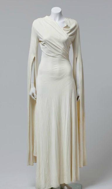Evening dress, Bergdorf Goodman, 1930.