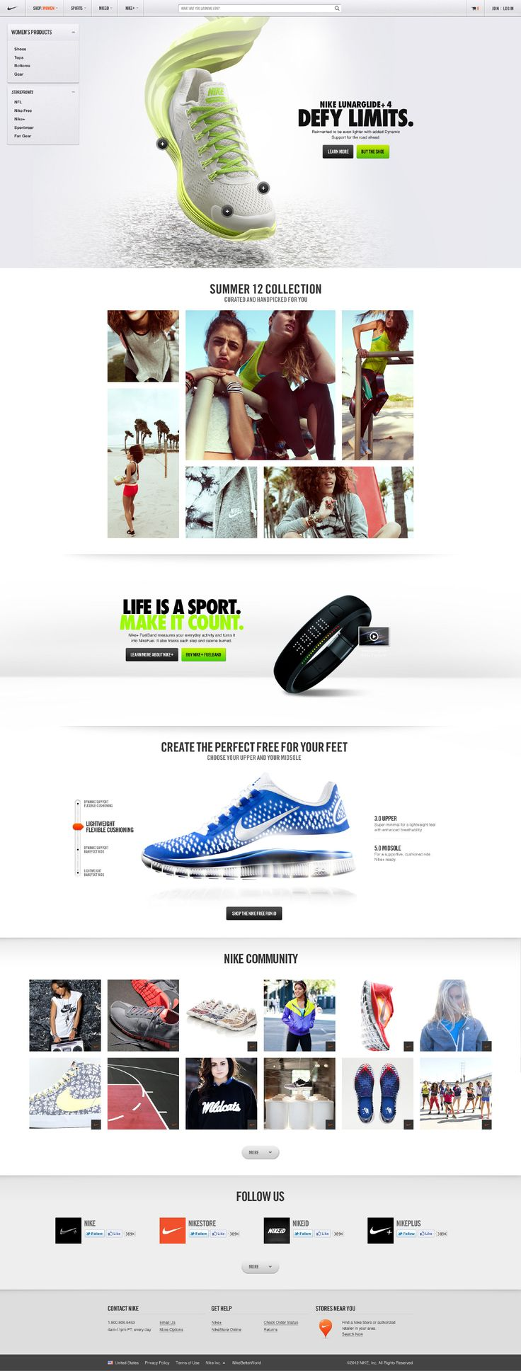 Nike Store - Hoshi Ludwig - Direction and Design