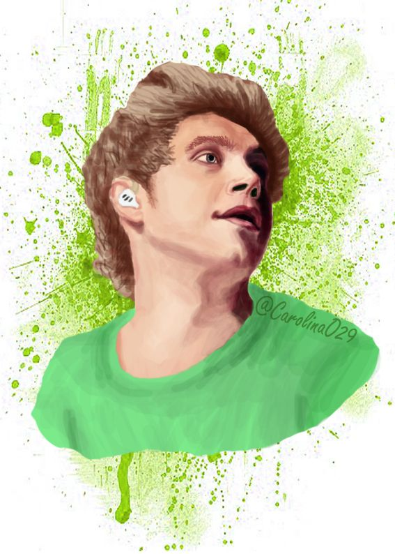 Digital Drawing of Niall Horan