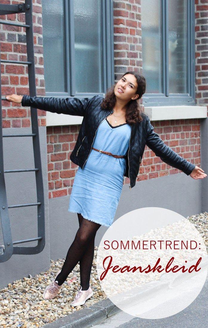 Sommertrend Jeanskleid: Styling bei schlechtem Wetter - Fashionblogger Tipps, Mode, Ootd, Outfit, Kleider