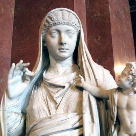 Валерия Мессалина — третья жена римского императора Клавдия.