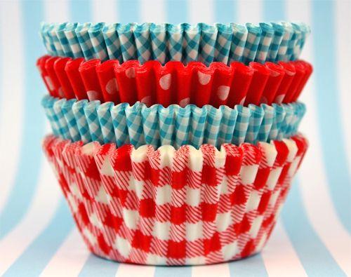 Summer cupcake liners