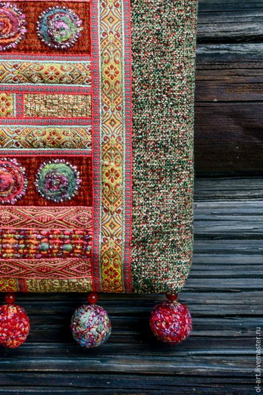 """Купить Сумка из гобелена """"Пелагея"""" - разноцветный, орнамент, сумка из гобелена, сумка через плечо"""