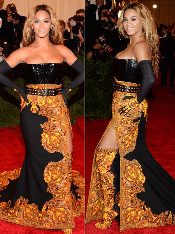 Beyonce Met Gala Givenchy Gown 2013