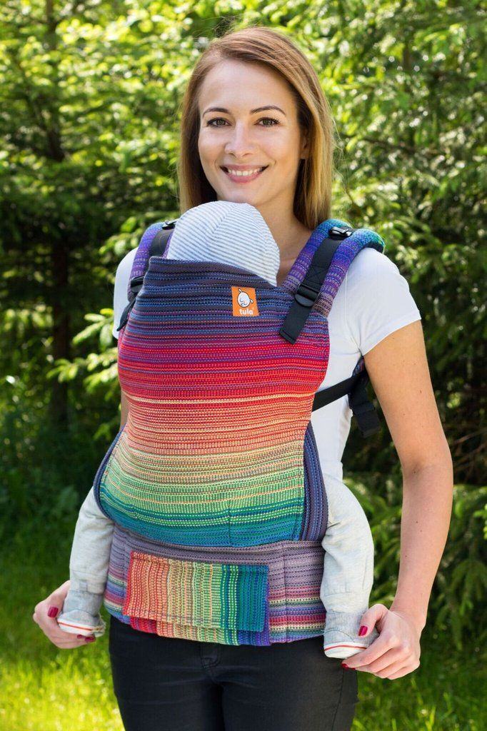 38a305248d2 Heartstring Handwoven Promise Purple Weft TULA BABY CARRIER