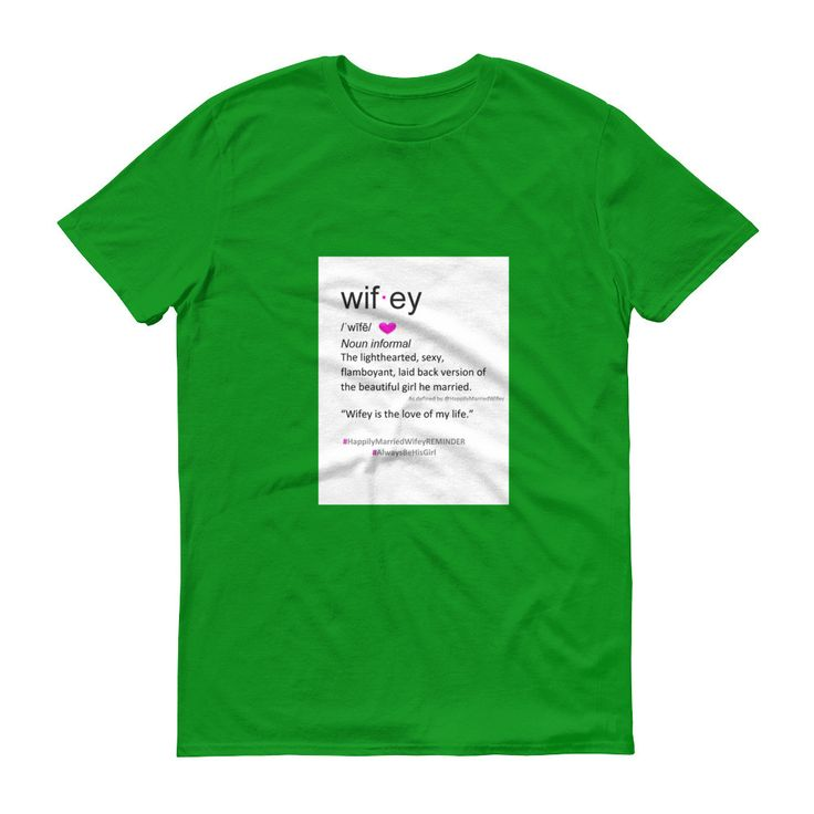 Wifey Definition 3XL Short sleeve t-shirt