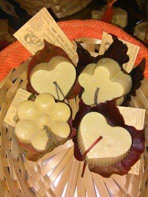sapone naturale realizzato con tecnica a freddo