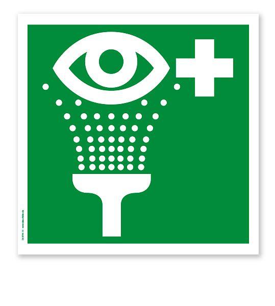 Rettungszeichen Augenspüleinrichtung nach DIN EN ISO 7010 #augenspueleinrichtung