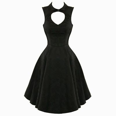 Halloween Bridesmaids dress- Goth Shopaholic: 13 Cute Retro Dresses from H&R London