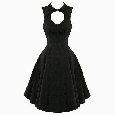 Halloween Bridesmaids dress- Goth Shopaholic: 13 Cute Retro Dresses from H&R London