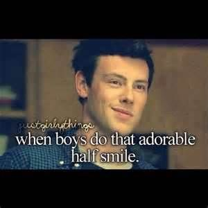 when boys... R.I.P CORY MONTEITH <3
