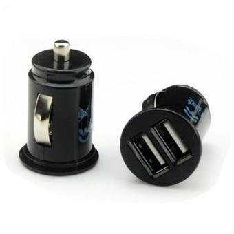 USB-ladd-uttag, dubbla uttag, för cig.-uttag i bil