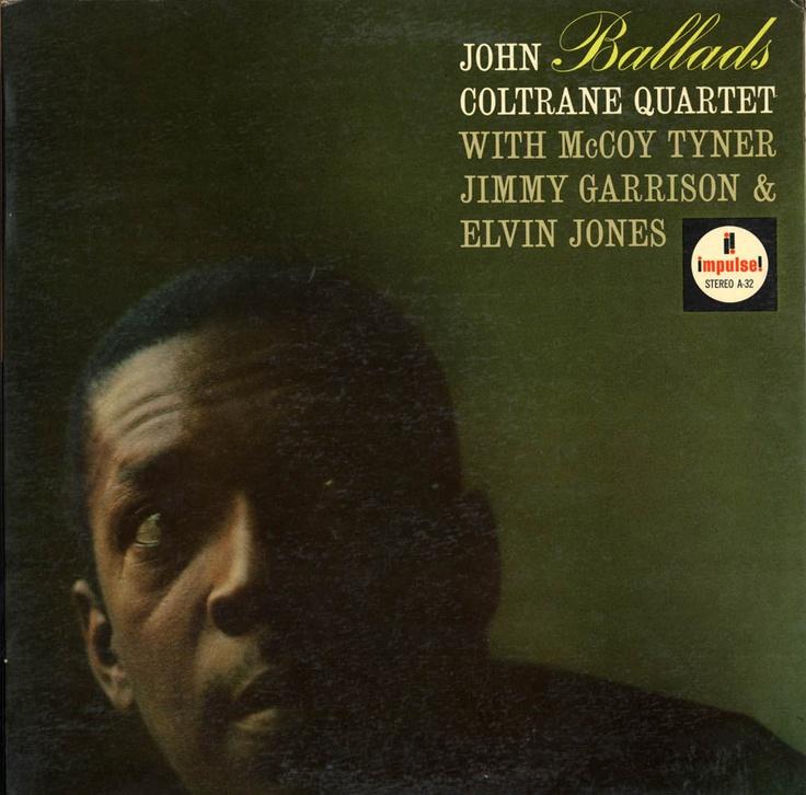 John Coltrane Quartet Ballads LP