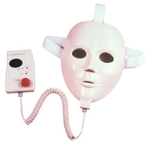 As Seen On TV mask is supposed to give a face-lift via low-watt electric current. Imagine if it accidentally gives a *HIGH* jolt.