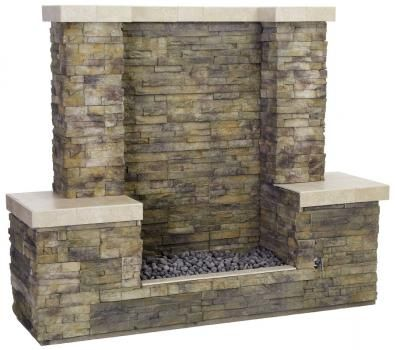 A Firewall provides more heat than other fire features and all the appeal of a fireplace outdoors - Bull Outdoor Products