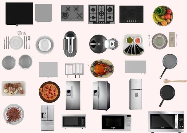 Muebles De Cocina Png Y Psd Sin Fondo Para Photoshop Diseno