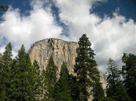El Gran Capitán en el parque de Yosemite