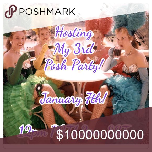 Hosting My Third Posh Party! January 7th! Hosting my 3rd posh party in January 7th! 12pm PST/ 3pm EST! So excited! Please join me! I'll be looking for Host Picks once the theme is announced! ASOS Accessories