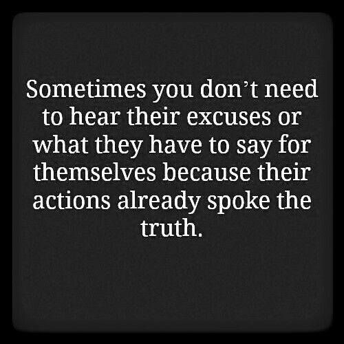 Messed Up Life Quotes: Actions > Words. Words Dont Mean Anything To Me.