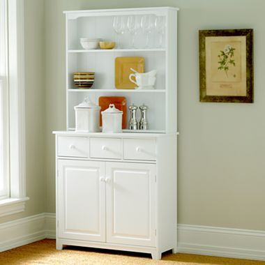 jcp home collection lindale buffet and hutch antique
