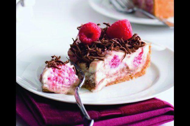 Malinový cheesecake | Apetitonline.cz