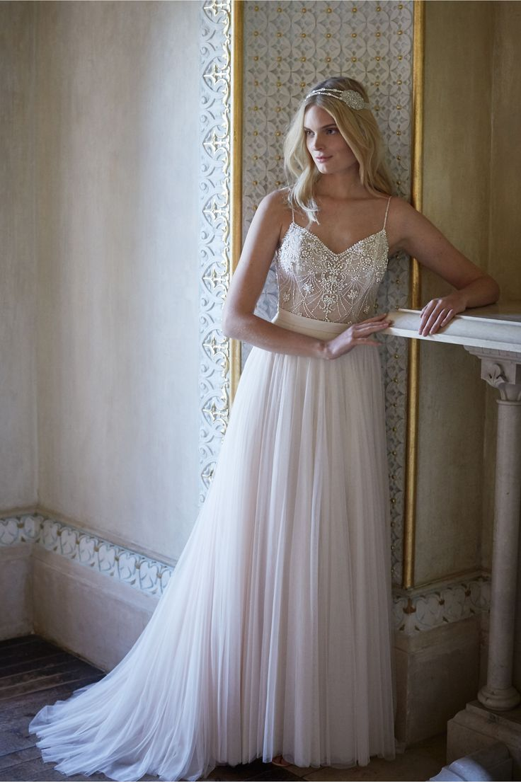 Ella Bodysuit and Amora Skirt in New at BHLDN