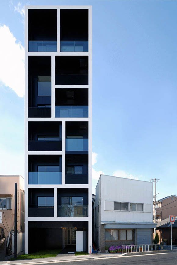 Gentil Apartment In Katayama , Mitsutomo Matsunami Architect Associates, Osaka,  Japan, Completed 2007