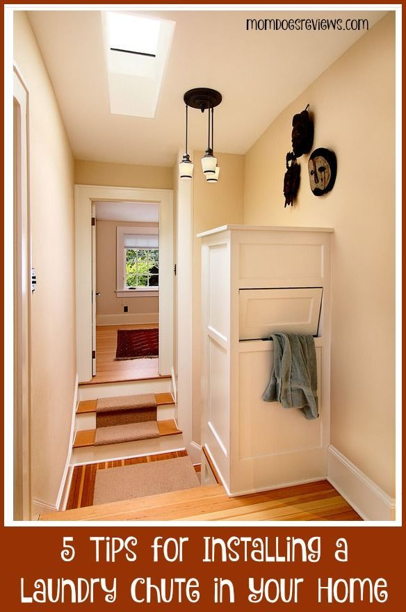 5 Tips For Installing A Laundry Chute In Your Home Laundry Chute Laundry Shoot Hidden Laundry