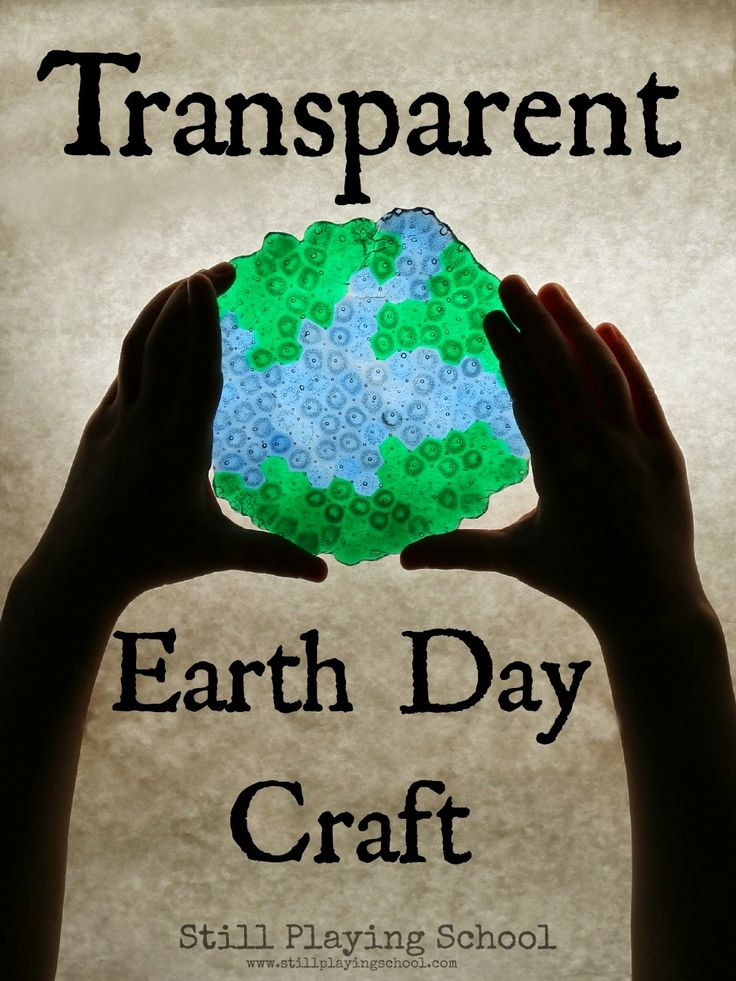 How to Make a Melted Bead Transparent Earth Day Craft for the Light Table or a Sun Catcher from Still Playing School